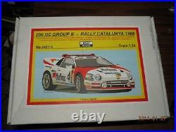 Reji Model 1/24 Ford Rs200 Rally Resin Kit Wrc Group B
