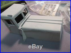 Resin CK48 MTFA Hayes WHDX cab conversion. 1/25th scale