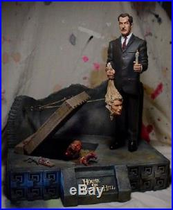 Resin Crypt Vincent Price House on Haunted Hill resin model kit Mint Sealed