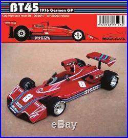 Resin Model Car Kit 1/20 Wm 1976 Brabham Bt45 German Gp