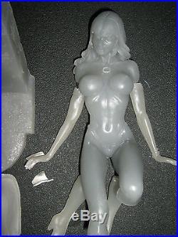 Resin Vampirella model kit resin casting unbuilt needs painting 1/5 scale