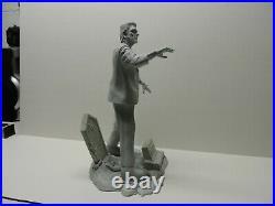 Resin jeff yagher sculpt of glen strange frankenstein, 14 tall, beautifful