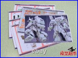 SH STUDIO Gundam MG 1/100 RMS-108 MARASAI Resin Conversion Original Kit