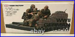 SOL RESIN FACTORY 1/16 120mm Scale WWII German MG34 Team MM194 Model Kit NEW