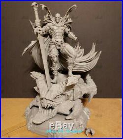 SPAWN Unpainted Resin Kits Model GK Statue 3D Print 25cm New