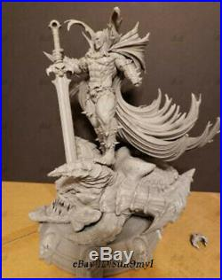 SPAWN Unpainted Resin Kits Model GK Statue 3D Print 32cm 1/6 New