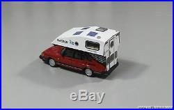 Saab 900 with Toppola Camper DREAMTRIP resin kit scale 1/43 by Griffin Models