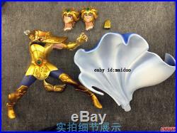 Saint Seiya Aioria Statue Garage Kit GK Leo Gold Saint Figure Collection Model