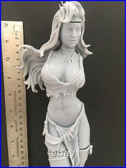 Savage Land Rogue- X Men Sexy Female 1/6 Scale Resin Model Kit