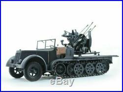 SdKfz 7/1 FLAKVIERLING 20mm Wespe Models 116 military resin model kit 16008