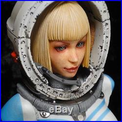 Sexy Girl COSMOS Bust Astronaut Figure Model Resin Kit Unpainted Assembly Hobby