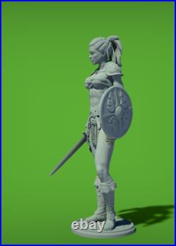 Sexy Gladiator scale 1/6 Garage Kit / Resin model Kit /Men's Gifts /FanART