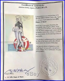 Sharon Carter Agent of Shield 1/8 resin model kit Captain America HOT