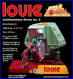 Silent Running Drone #3 Louie Resin Model Kit Robot New