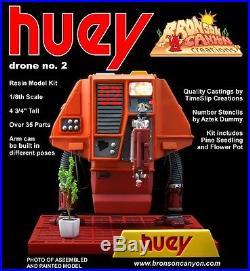 Silent Running Drone Robots Resin Model Kits Set Of 3! Huey, Dewey, Louie