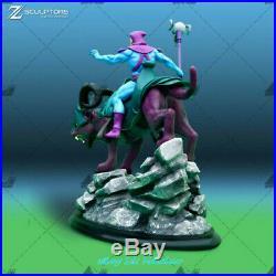 Skeletor Masters of the Universe Unpainted Resin Kits Model Figure 3D Print 32cm