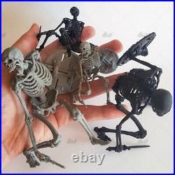 Skull Warrior Unpainted Resin Kits Model GK Figurine Statue 3D Print 1/6 H 9in