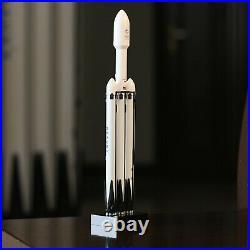SpaceX Heavy Falcon Rocket Model Imported Resin Falcon Heavy Rocket Simulation