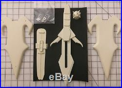 Star Trek Klingon Daqtagh Knife AND Sheath 11 SCALE RESIN PROP KIT