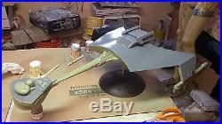 Star Trek Klingon Tos D7 1/350 Resin Kit New Clear Parts Included