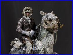 Star Wars Scale Resin Model Kit Han Solo on Tauntaun StannArts