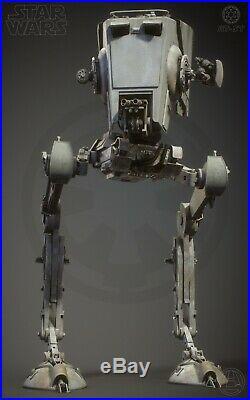 Star Wars Studio Scale ROTH AT-ST Resin Model Kit