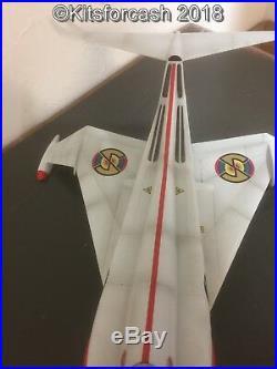 Studio Scale Captain Scarlet Angel Interceptor Resin Kit Approx 30 Long + Pilot