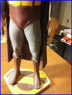 Superman George Reeves 1/6 resin model 1950s. Built up