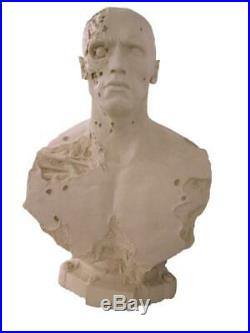 T800 Terminator Bust life Size Scale Hobby Resin Model Kit Garage Cast Unpainted