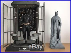 TDKR Memorial Statue Batman Resin Model Kit Movie Prop Replica Dark Knight Rises