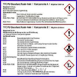 TFC PU Polyurethan PUR Giessharz Resin 4min Modellbau 11 10 kg