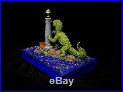 The Beast From 20,000 Fathoms Resin Model Lots Of Custom Work