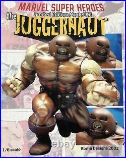 THE JUGGERNAUT marvel comics X-Men resin model kit rare 1/6 scale koma designs