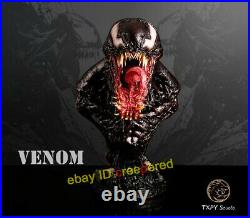 TXPY Studio Venom 12 Scale Bust Statue Resin Figurine 16H Painted Collection