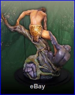Tarzan Model Kit Koma Designs The Jungle King Resin 11.75in tall diorama