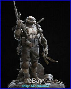 Teenage Mutant Ninja Turtles Unpainted Resin Kits Model GK Figurine 3D Print 1/6