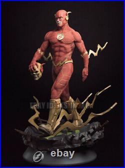 The Flash 1/4 Figure 3D Print Model Kit Unassembled Unpainted H53cm/20.8in GK