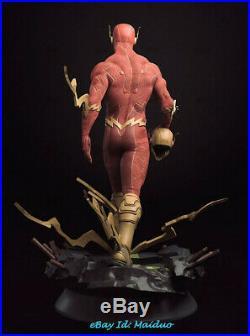The Flash Unpainted Resin Kits Model GK Figurine 3D Print 30cm New