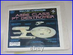 Thomas Models ABBE CLASS PT DESTROYER RESIN 1/537 Model CONVERSION Kit NO DECALS
