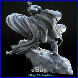 Thor Unpainted Resin Kits Model GK Figurine Statue 3D Print 1/6 25cm New