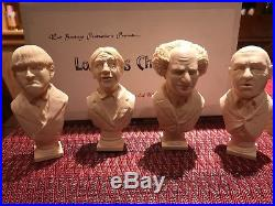 Three Stooges Busts Resin Model Kit (VERY RARE) OOP Set Sculpted by Ed White