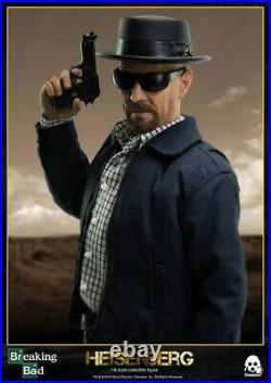 Threezero 1/6th Scale Breaking Bad Heisenberg collectible Action Figure Unopened