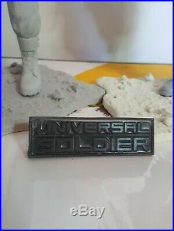 Universal Soldier 2 Figure Resin Model Kit Rare