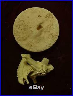 Unpainted 1/3 wolf predator, resin model kit