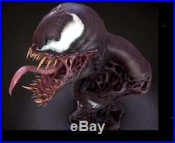 Unpainted 21cm high venom bust, resin model kit