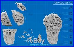 Unpainted Alien Queen Resin Kits Model Statue GK Unassembled 1/32 Scale 3D Print