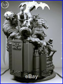 Unpainted Batman Sanity Resin Kits Model Statue GK Unassembled 50cm