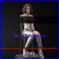 Unpainted Black Widow 3 Body Ver. Resin 3D Printing Model Unassembled 1/6 24cm