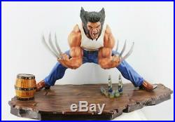Unpainted Unassembled 1/4 Wolverine Mutant Statue Resin Model Kit Cast For Hobby
