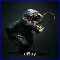 Unpainted Venom 1/3 Bust Figure Unassembled Garage Kit Model Resin GK Statue New
